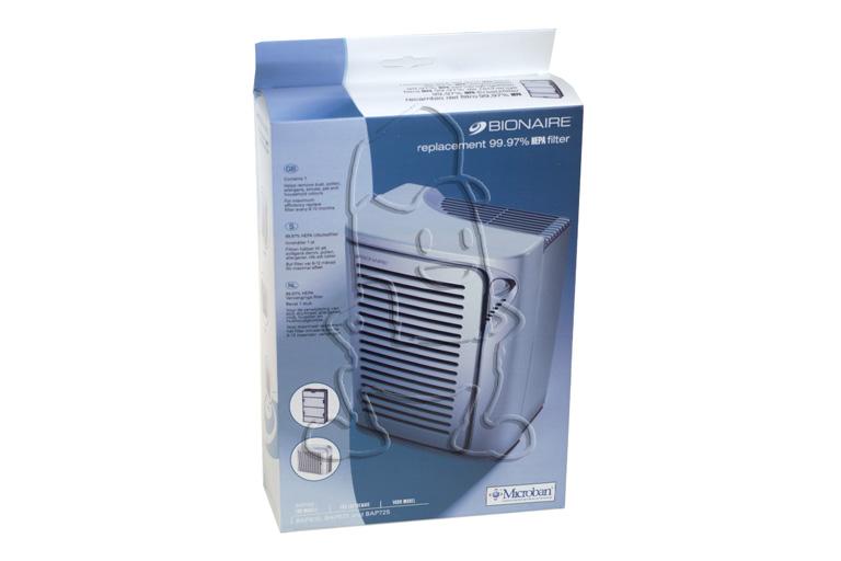 bionaire bionaire filtre hepa bapf600 purificateur d 39 air. Black Bedroom Furniture Sets. Home Design Ideas