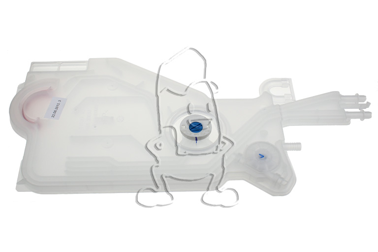 Smeg chambre compression d 39 air lave vaisselle 766610150 - Chambre compression lave linge ...
