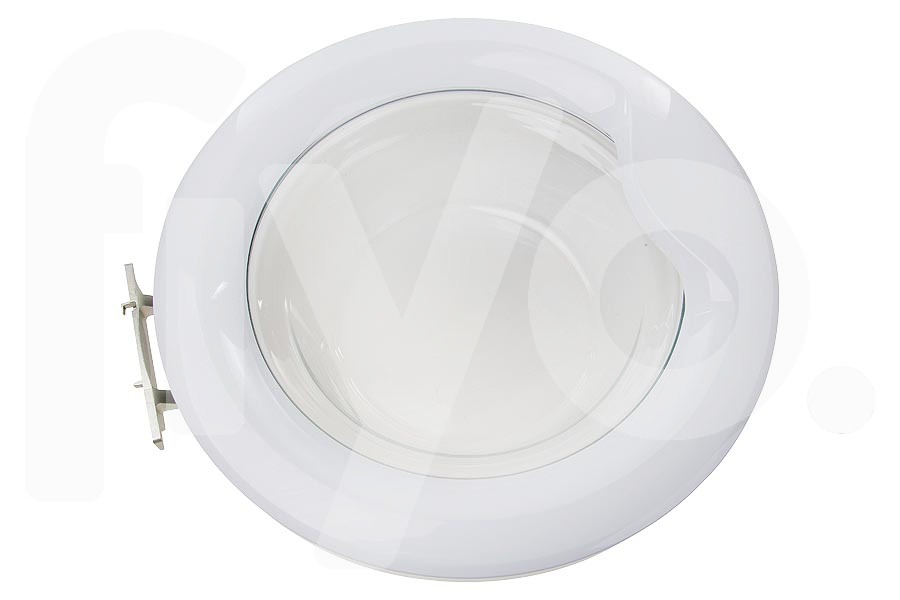 Hublot complet avec vitre blanc machine laver 2878300200 - Laver vitre vinaigre blanc ...