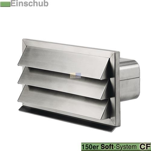grille ext rieure pour conduit scf 150 mm inox hotte. Black Bedroom Furniture Sets. Home Design Ideas