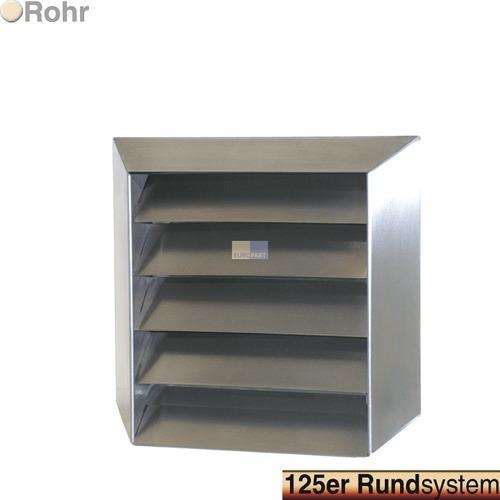 grille ext rieure pour conduit rond 125 mm inox hotte. Black Bedroom Furniture Sets. Home Design Ideas
