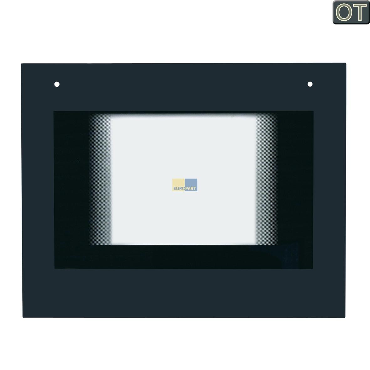 Vitre avant pour porte avec cadre noir 3578469268 for Peut utiliser four sans vitre interieure
