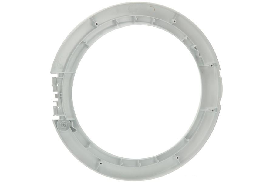 Cadre hublot exterieur blanc machine laver for Hublot exterieur