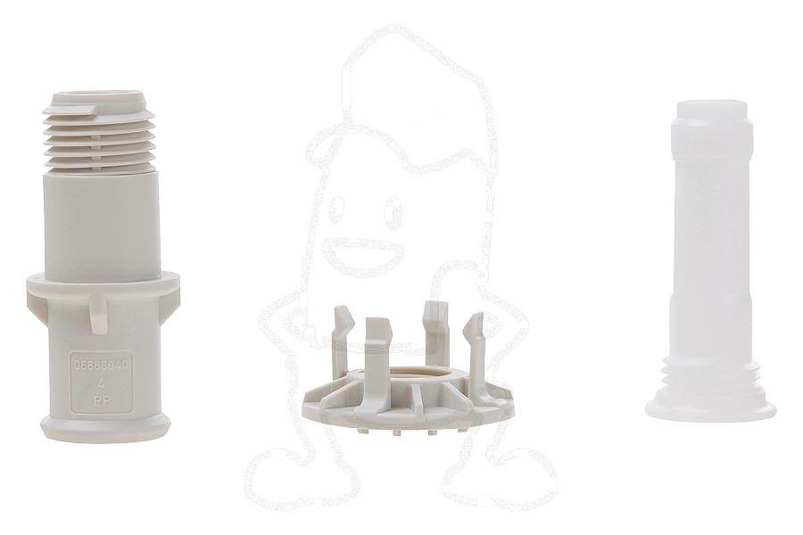 Commandez facilement votre miele adaptateur bras d for Adaptateur robinet lave vaisselle
