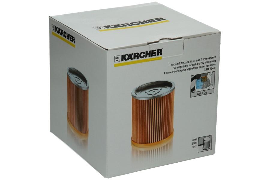 Kärcher Filtre Rond Moteur Aspirateur 6.414 354.0, 64143540 | Fiyo.fr