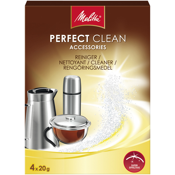 melitta perfect clean nettoyant pour cafeti re 6574765. Black Bedroom Furniture Sets. Home Design Ideas