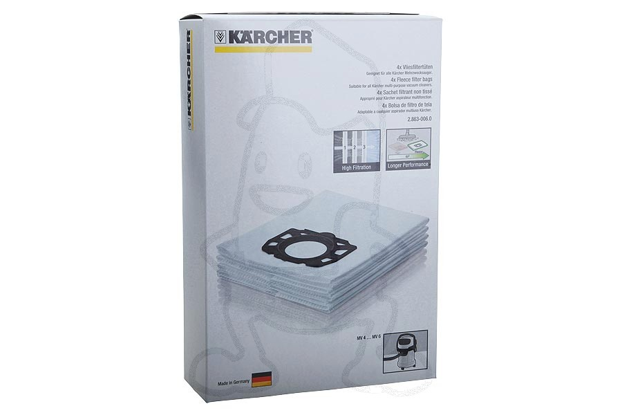 karcher sac aspirateur mv vendu par 4 cat gorie accessoire aspirateur. Black Bedroom Furniture Sets. Home Design Ideas
