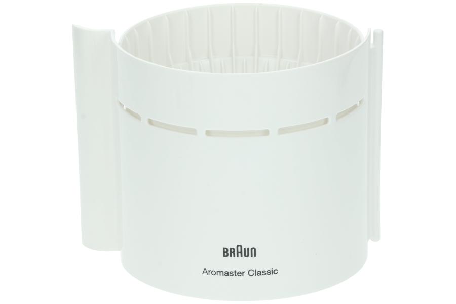 Braun bac filtre blanc pour cafeti re br67000760 - Nettoyer cafetiere vinaigre blanc ...