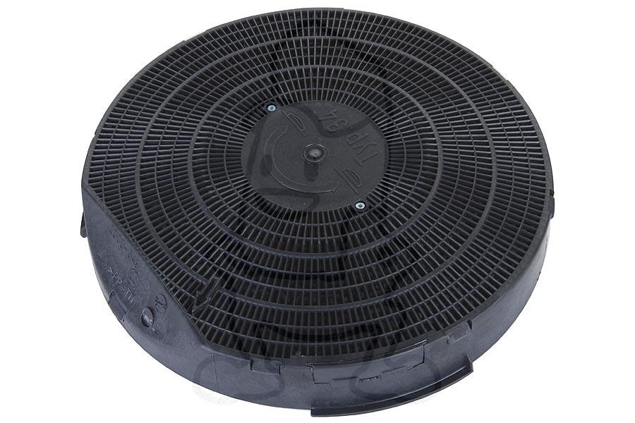 filtre charbon mod le 34 25cm hotte aspirante 50290643001. Black Bedroom Furniture Sets. Home Design Ideas