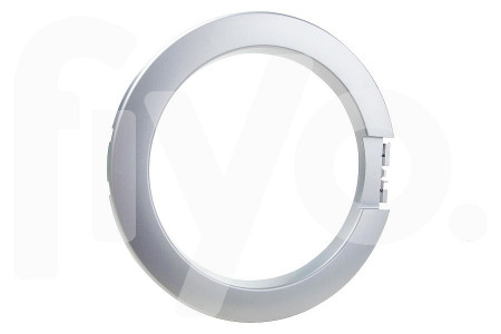 Cadre hublot (exterieur, argent) machine à laver 1108252105