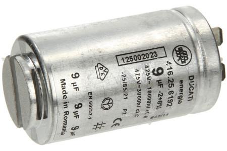 Condensateur - 9µf Sèche linge 1250020227