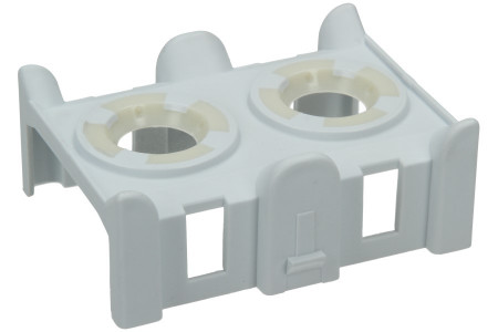 Couvercle (anneaux en caoutchouc inclus) pour le tuyau d'alimentation pour lave-vaisselle 481253029431