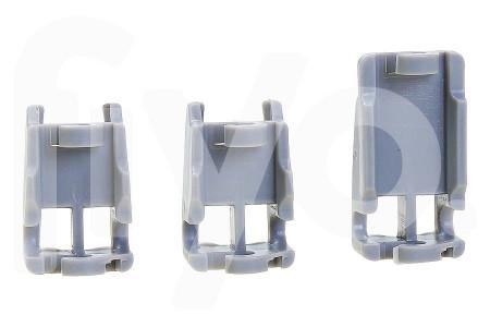 Jeu de Glissière de guidage pour Panier Supérieur (Panier) Plastique Lave vaisselle 00418674