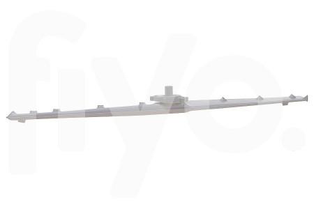 Bras Gicleur (pulvérisateur) Supérieur incl. écrou de fixation en plastique 450x40x60mm Lave vaisselle 481236068044
