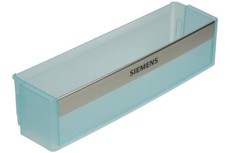 Porte-bouteille Réfrigérateur convient pour Bosch, Siemens Inférieur 425 x 112 x 100 mm Transparent 00433882, 433882
