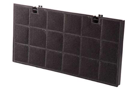 WPRO filtre à charbontype 150dkf24 (435x217x20mm) hotte aspirante 481281718526, fat150