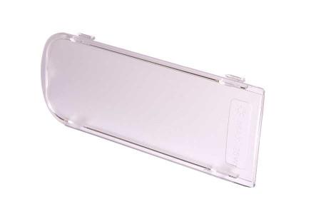 Verre de protection (de l'ampoule - 167x67mm) hotte aspirant 481946279986