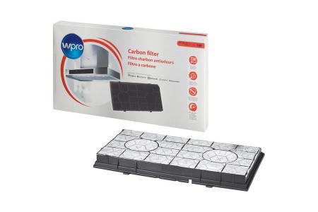 WPRO filtre à charbon type 190amh520 (485 x 265 x 48 mm) hotte aspirante 484000008578, CHF190