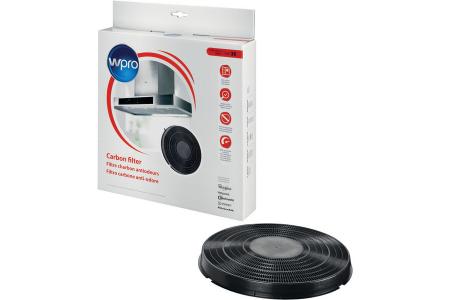 WPRO filtre à charbon type 26 (Ø270 x 35 mm) hotte aspirante 484000008789, FAC269