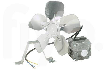 Ventilateur Universel (aileron, hélice, pale) Tourne dans le sens des aiguilles d'une montre avec le moteur 10W 250x248x90mm Réfrigérateur / Congélateur 0