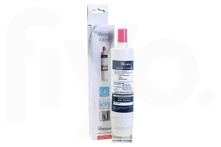 Whirlpool Filtre à eau SBS002 48x48x255mm Réfrigérateur / Congélateur 484000008726
