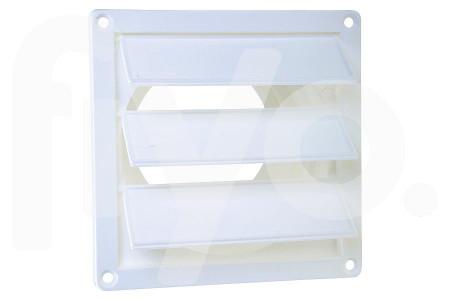Sortie d'air (extérieur) 100-130mm en Plastique Blanc avec 3 Lamelles 62500500