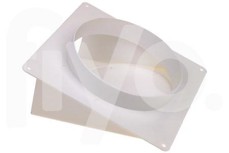 Sortie d'air (extérieur) 150mm en Plastique Blanc 1 Soupape 62500300