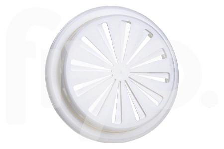 Grille de Ventilationr 100-150mm en Plastique Blanc 4570860
