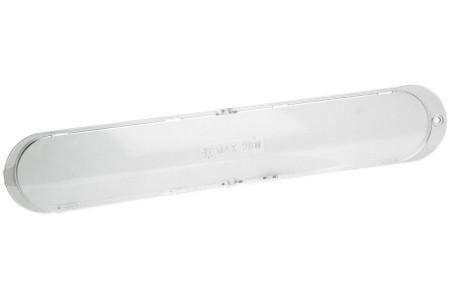 Verre de protection (de l'ampoule - 370 x 65mm-) hotte aspirant 482000008881