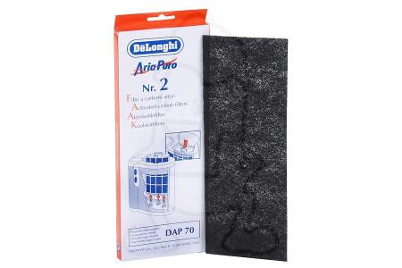 Delonghi Filtre (filtre à charbon 263x95mm) purificateur d'air 5537000100