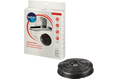 WPRO filtre à charbon type 30 (c235 x 46 mm) hotte aspirante 481281718529, fac309