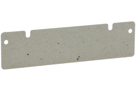 Plaque De Mica (128x33mm avec 2 crevasses) micro ondes 481944238057