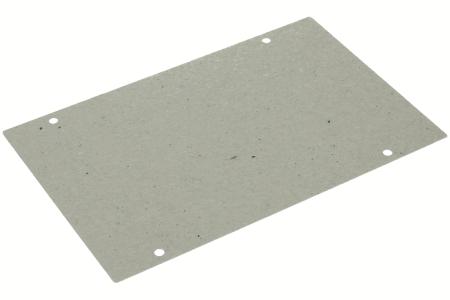 Plaque mica (185x120mm avec trous) micro ondes 481244229206