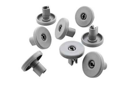 Roue Lave vaisselle pour Aeg, Electrolux, Zanussi Panier inférieur 8 Pièces 50286965004