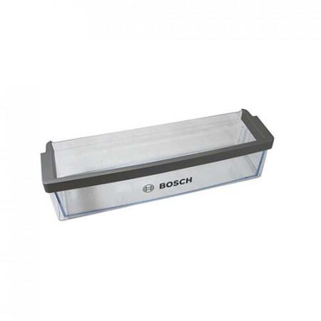Porte-bouteille Réfrigérateur convient pour Bosch, Siemens Inférieur 423 x 117 x 113 mm Transparent 00671206, 671206