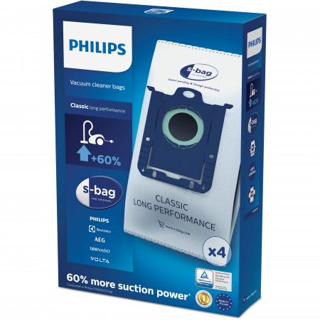 Philips S-Bag Long Performance Sacs pour aspirateur FC8021/03