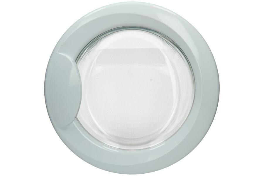 Hublot complet blanc avec vitre machine laver 115842 - Laver vitre vinaigre blanc ...