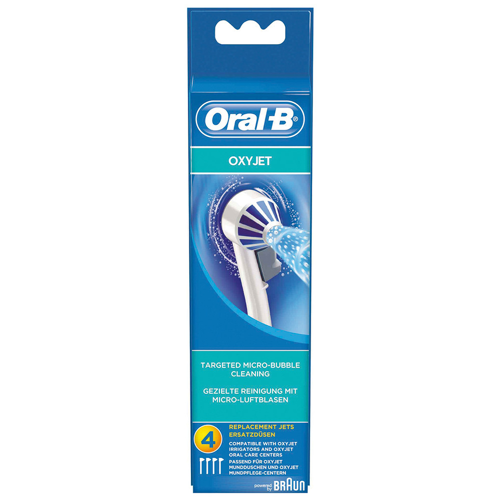 braun accessoire de jet dentaire oral b oxyjet ed17 brosse dents lectrique 63719733. Black Bedroom Furniture Sets. Home Design Ideas