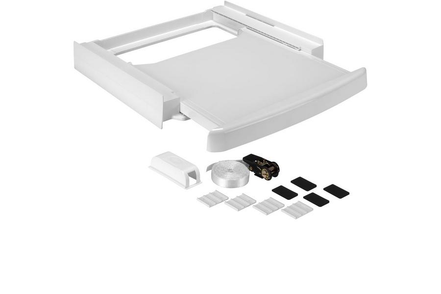 Wpro kit de superposition avec tiroir pour lave linge - Superposer lave linge seche linge sans kit ...