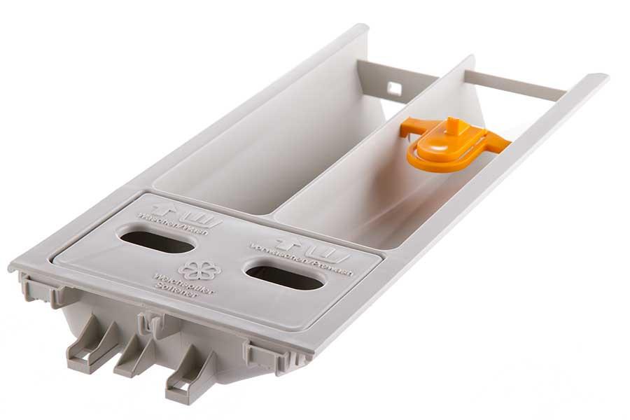 bac a lessive 2 compartiments machine laver miele 602610. Black Bedroom Furniture Sets. Home Design Ideas
