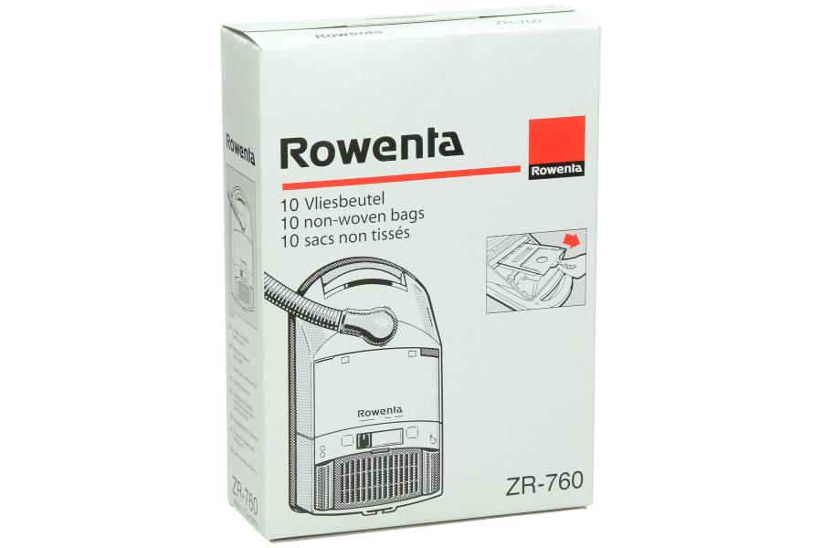 rowenta sacs pour aspirateur zr76. Black Bedroom Furniture Sets. Home Design Ideas
