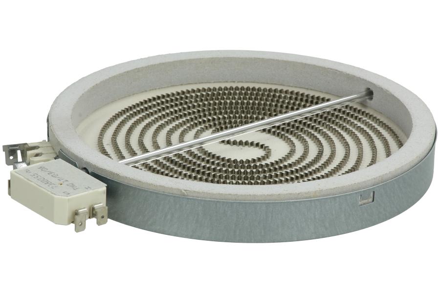 plaque chauffante r sistance pour plaque vitroc ramique 230volt cuisini re 481231018889. Black Bedroom Furniture Sets. Home Design Ideas