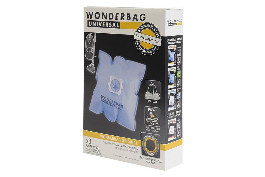 wonderbag universal original sacs pour aspirateur wb403120. Black Bedroom Furniture Sets. Home Design Ideas