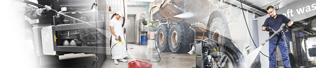professional pressure washer banner