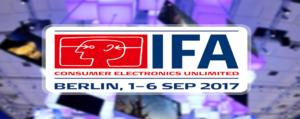 Retrouvez les dernières tendances de l'IFA 2017