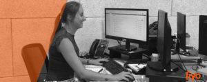 Nous vous présentons notre employé du mois: Anneke du service client